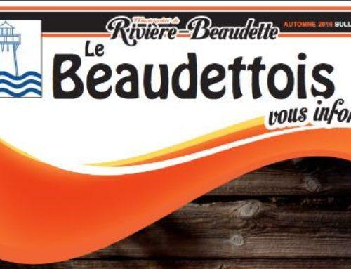 Le Beaudettois automne 2016