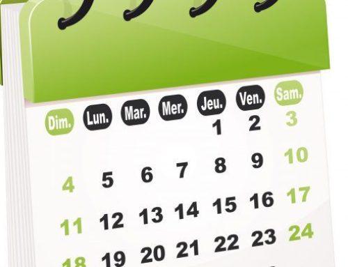 Dates des séances ordinaires du conseil 2019